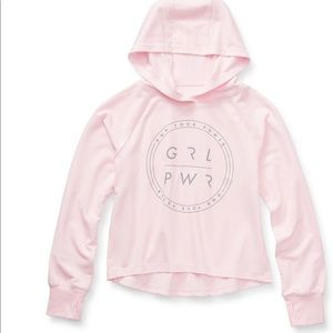 NWT Xersion Baby Pink Lightweight Pullover Hoodie